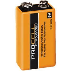 Procell Duracell Procell 9V Alkaline Batteries