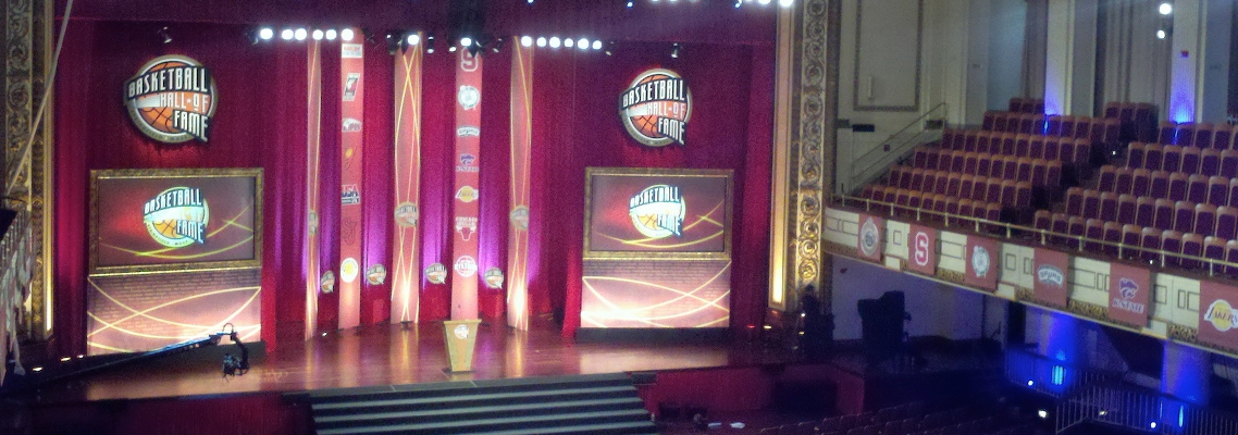NBA Hall of Fame Enshrinement