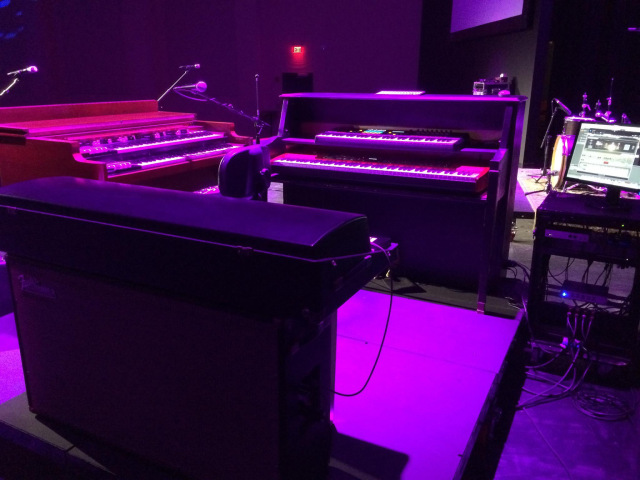 Ross's Keys Rig at The Kirk