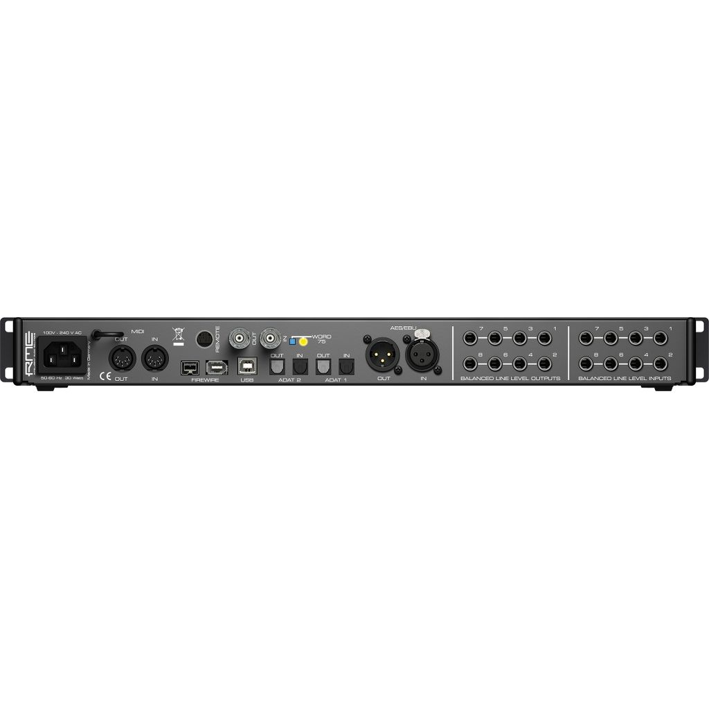 RME Fireface 802 60-Ch 192 kHz USB/FireWire Interface