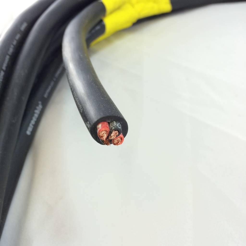 Eurocable Eurocable 04N40 11AWG 4 Conductor Pre-Cut Speaker Cable - 5 Feet