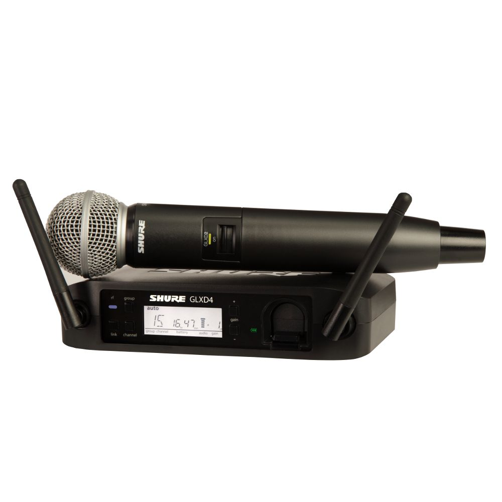 Shure Shure GLXD24/SM58 Handheld Wireless System