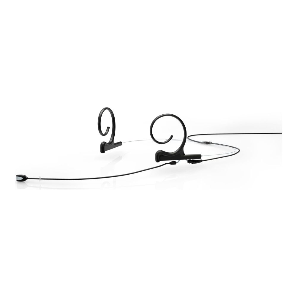 DPA Directional Headset, Black, Long 120 mm, Dual Ear, Microdot (Adaptor Required)