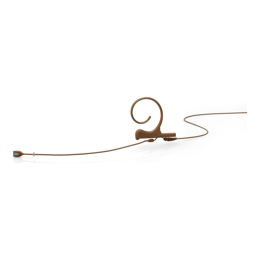 DPA Directional Headset, Brown, Long 120 mm, Single Ear, Microdot (Adaptor Required)