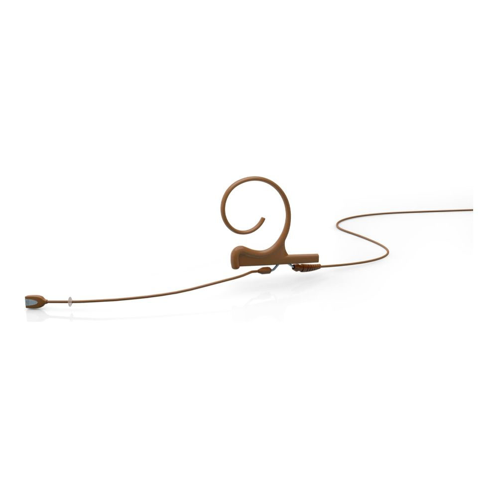 DPA Directional Headset, Brown, Medium 100 mm, Single Ear, Microdot (Adaptor Required)