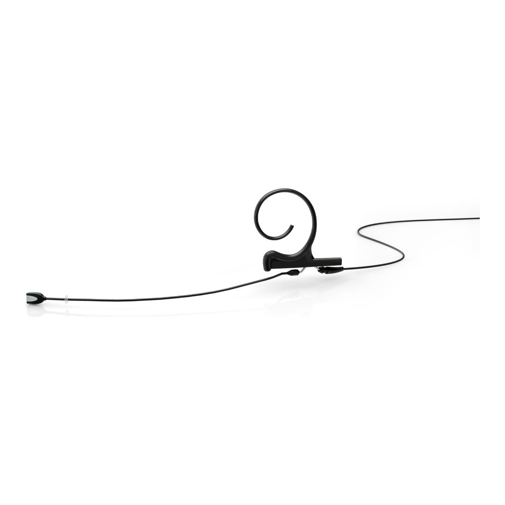 DPA Omnidirectional Headset, Black, Long 110 mm, Single Ear, Microdot (Adaptor Required)