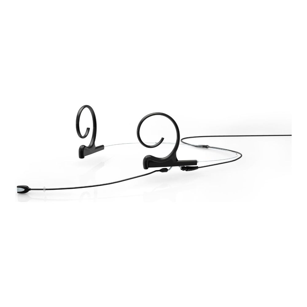 DPA Omnidirectional Headset, Black, Medium 90 mm, Dual Ear, Microdot (Adaptor Required)