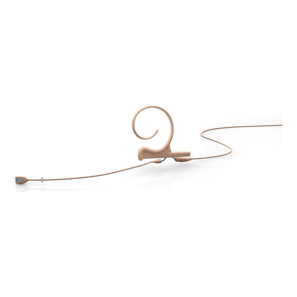 DPA Omnidirectional Headset, Beige, Medium 90 mm, Single Ear, Microdot (Adaptor Required)