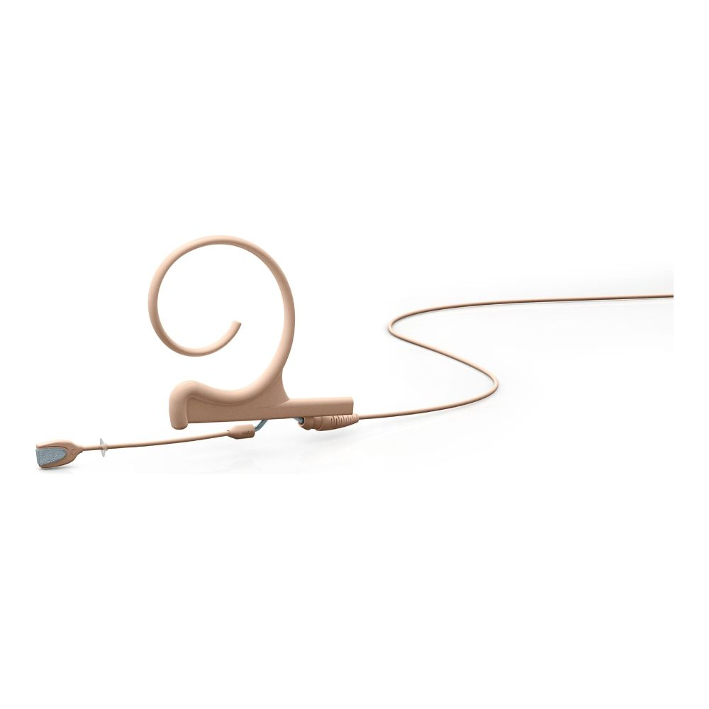 DPA Omnidirectional Headset, Beige, Short 40 mm, Single Ear, Microdot (Adaptor Required)