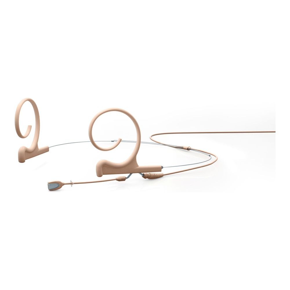 DPA Omnidirectional Headset, Beige, Short 40 mm, Dual Ear, Microdot (Adaptor Required)