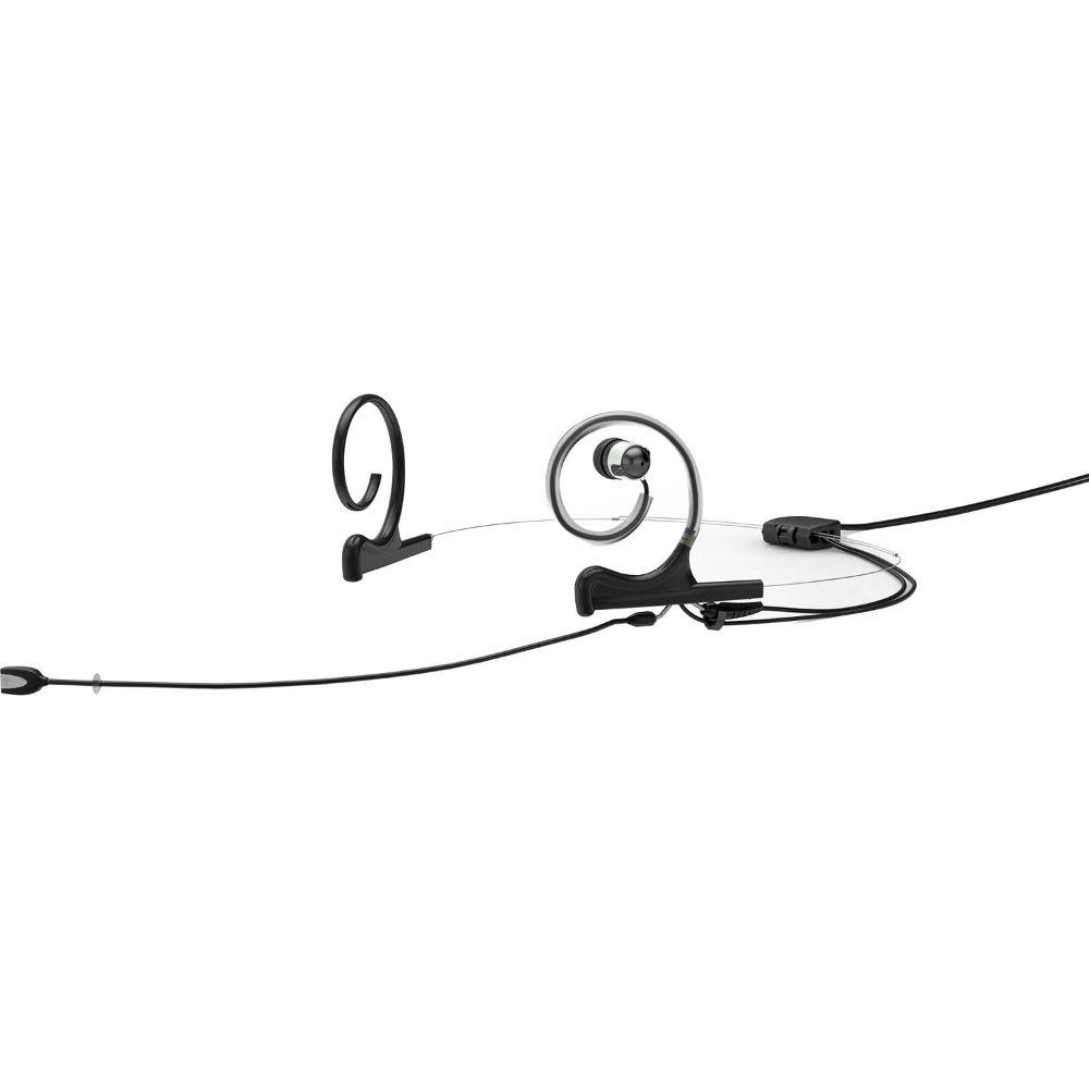 DPA In-Ear Broadcast Headset, Black, 120mm Directional Boom, Microdot, Dual- Ear, Dual In-Ear