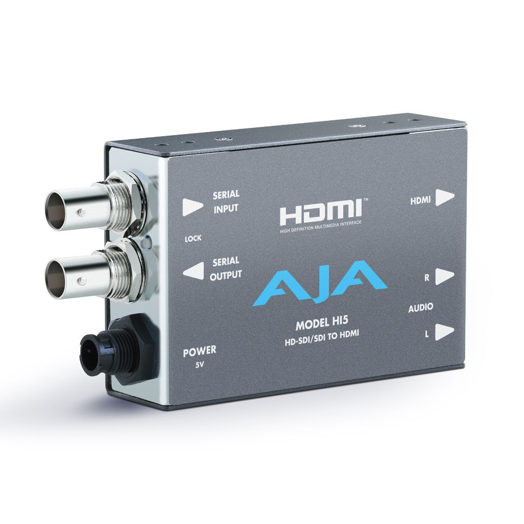 AJA Aja Hi5 HD-SDI/SDI to HDMI Video and Audio Converter