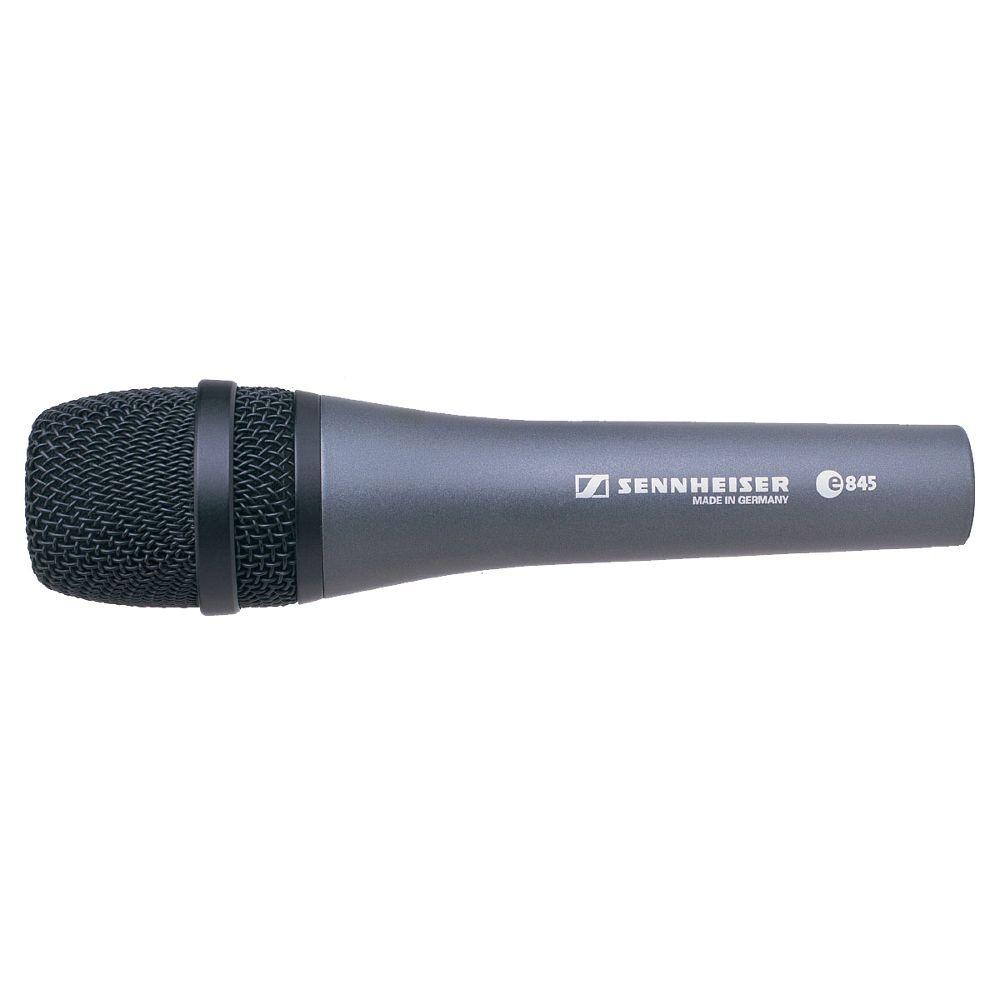 Sennheiser Sennheiser e845 Handheld super-cardioid dynamic microphone.