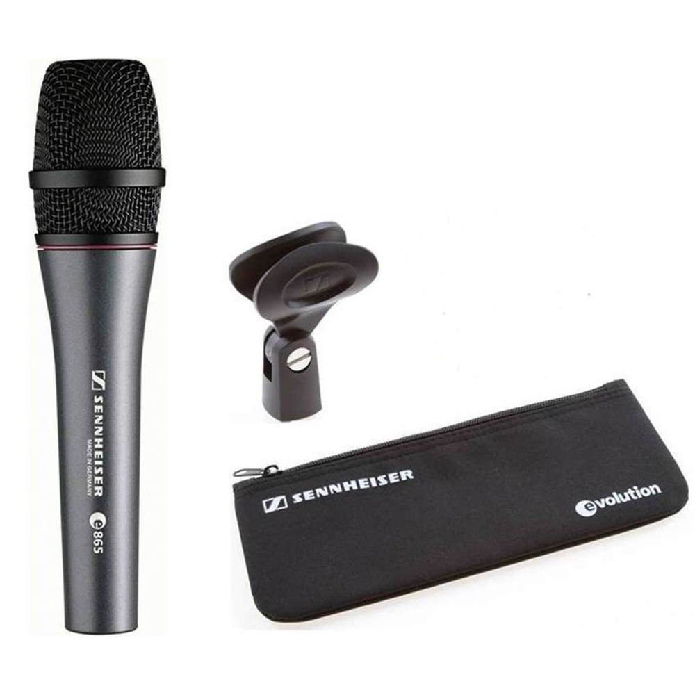 Sennheiser Sennheiser e865 Handheld super-cardioid condenser microphone