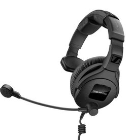 Sennheiser Sennheiser HMD 301 PRO Broadcast headset with ultra-linear headphone response (single sided, 64 ohm) and dynamic hyper-cardioid microphone.
