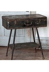 Charming PARK HILL  METAL SUITCASE SIDE TABLE