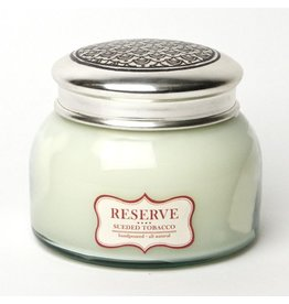 RESERVE CANDLE- SUEDED TOBACCO