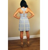 BUSTIER CUT OUT SUNDRESS