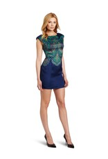 TRACY REESE- V-BACK SHIFT DRESS