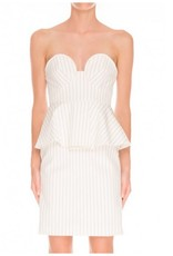 REVELATION BUSTIER DRESS