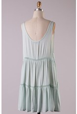 SAMMY SLEEVELESS GAUZE DRESS