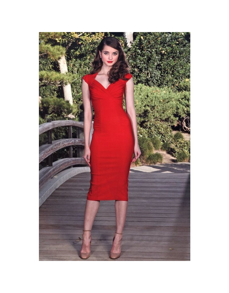 HERMOSA FITTED DRESS
