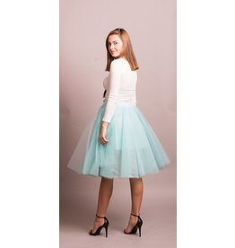 VOGUE MESH TULLE SKIRT