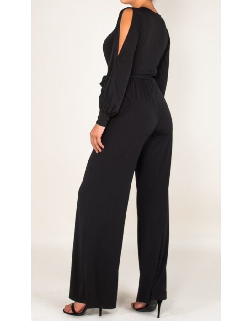 BRIDGE OPEN JUMPSUIT