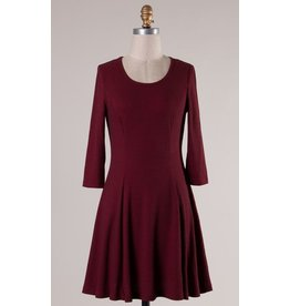 CABIN FIT AND FLARE DRESS