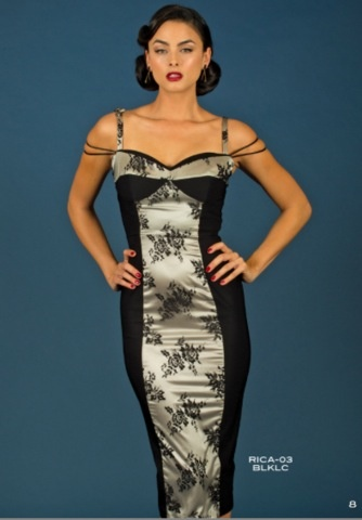 RICA FITTED DRESS