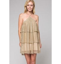GOLDEN DOTS DRESS