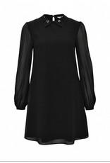 JEWELED COLLAR DRESS