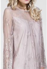 CARMEN LACE SLIP ON DRESS