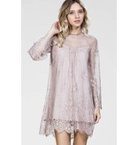 CARMEN LACE SLIP ON DRESS
