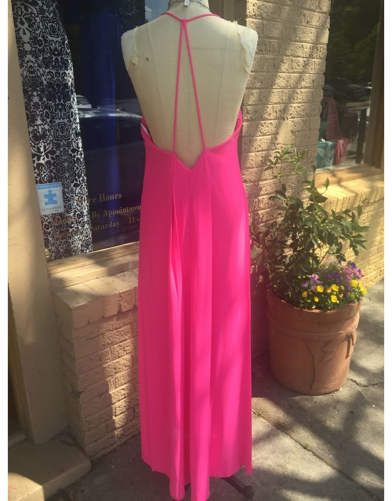 V-NECK MAXI CAMI DRESS