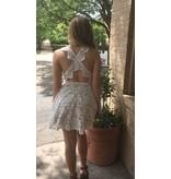 CROSS BACK SWING DRESS