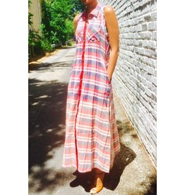 WISPER OF THE FAIRY BUTTON DOWN MAXI
