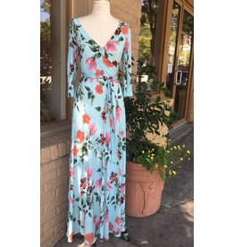 Bridge Mint Blossom Maxi Dress