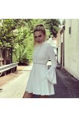 CIERRA BELL SLEEVE DRESS