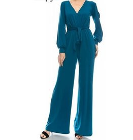 BRIDGE OPEN SLEEVE JUMPSUIT