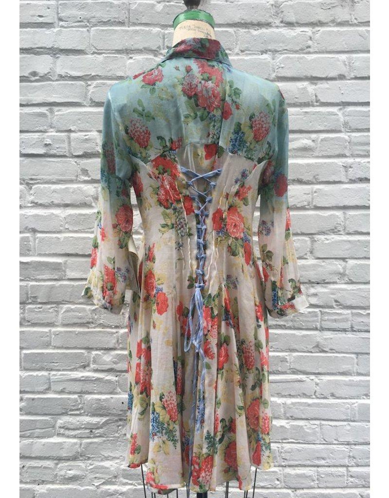 HALO SUNSET SHIRT DRESS