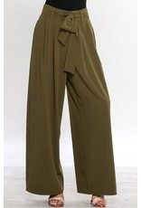 CALIN PAPERBAG WAIST PANTS