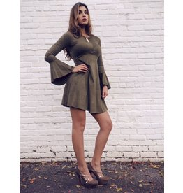 CLAUDI BELL SLEEVE DRESS