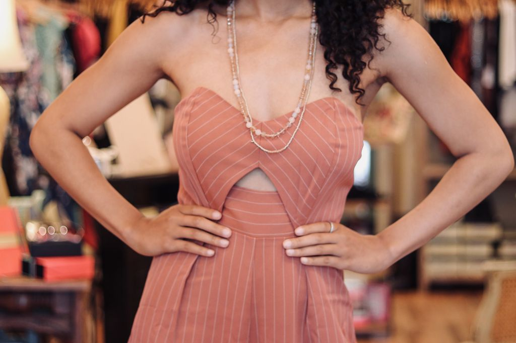 Sweetheart Neck Strapless Jumpsuit
