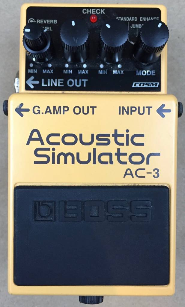 Boss Boss Acoustic Simulator AC-3