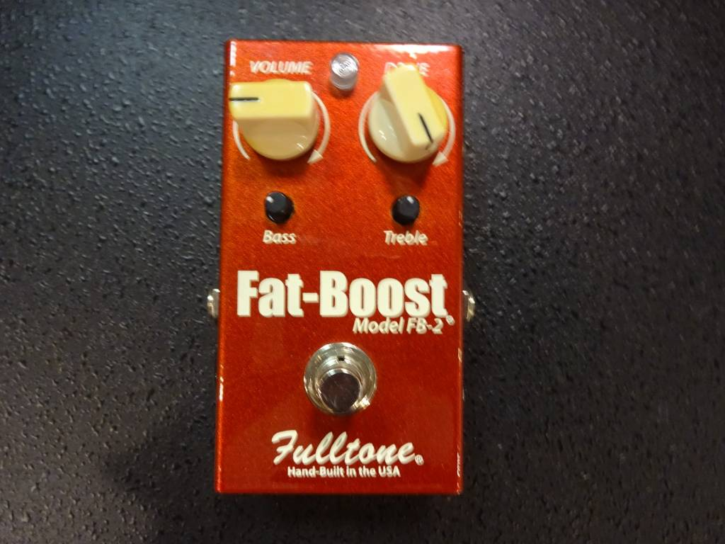 Fulltone Fulltone Fat Boost FB-2 2000's Red