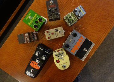 Pre-Stomped Pedals