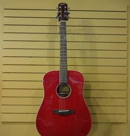 Austin Austin AA25D Dreadnought Wine Red
