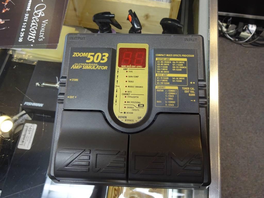 Zoom 503 Guitar/Bass Amp Simulator