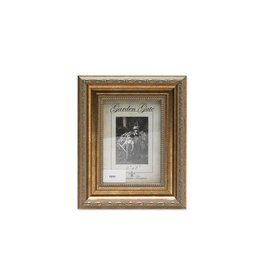 Lawrence Frames Lawrence Frames Burnished Sorrento Gold Carved with Inner Bead Picture Frame,